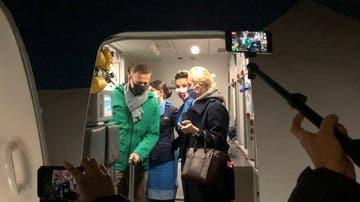 Navalni llega a Rusia tras pasar meses en Berlín por su envenenamiento