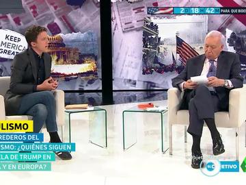 """Tenso debate entre Errejón y Margallo sobre el 'populismo' y el bienestar social: """"El mercado es cada vez más libre y la gente lo es cada vez menos"""""""