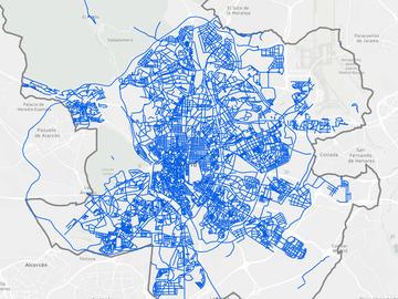 Consulta las calles limpias de Madrid de nieve en este mapa