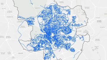 Mapa: consulta las calles de Madrid que ya están limpias de nieve