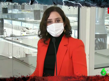 """Ayuso advierte de las 'graves' consecuencias de las críticas en redes al Isabel Zendal: """"Los pacientes acaban teniendo depresión"""""""
