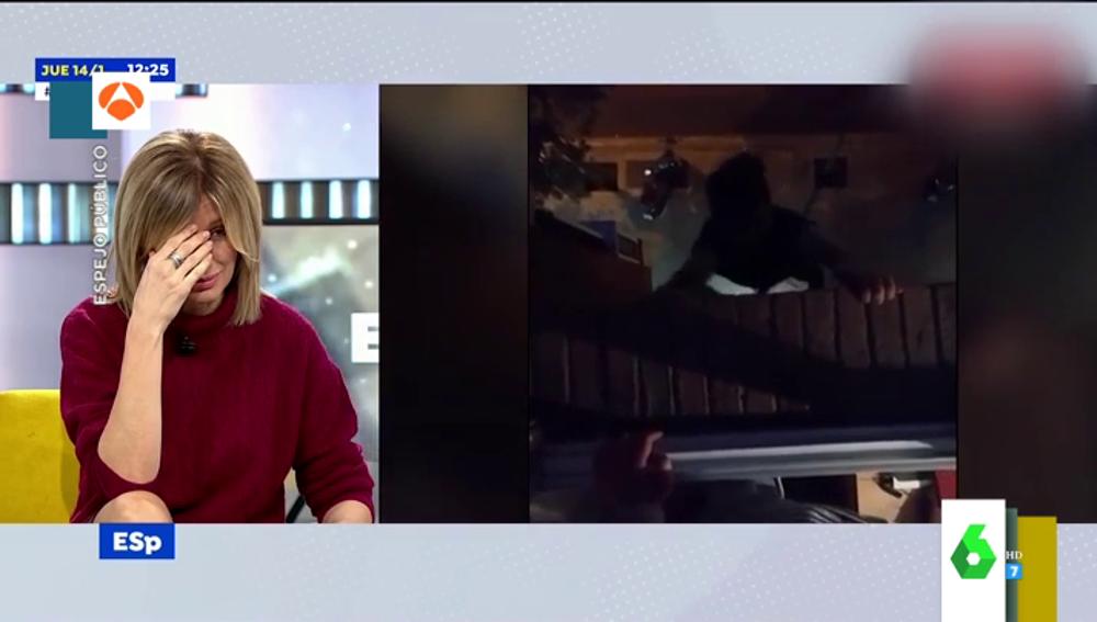 """El brutal vídeo de un youtuber que cae al vacío al descolgarse por una ventana que enfada a Susanna Griso: """"Eres un gilipollas"""""""