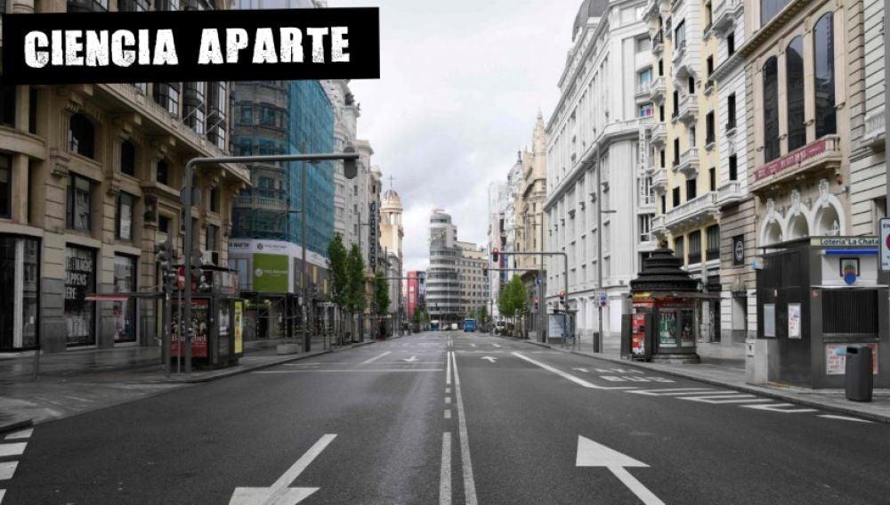 Confinamiento en Madrid (Archivo)