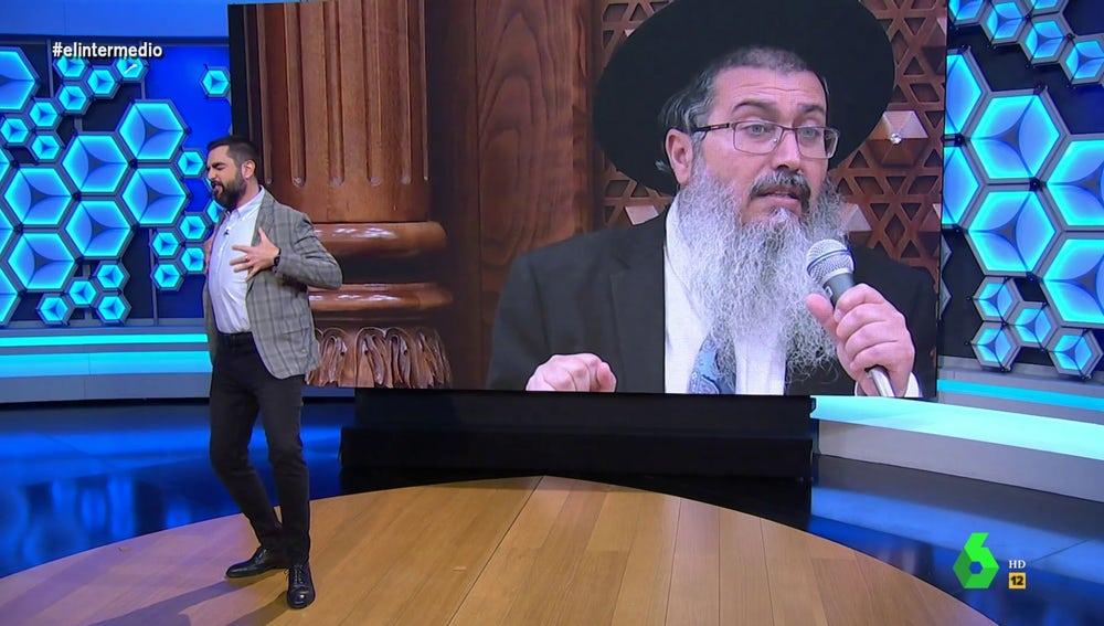 La surrealista 'advertencia' de un rabino sobre la vacuna