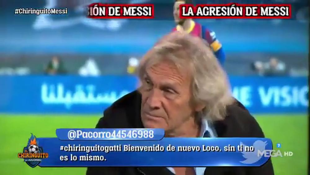 """Gatti: """"Si sancionan a Messi, el Barça va a mejorar"""""""