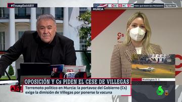 La portavoz del Gobierno de Murcia y líder de Cs en la Región, Ana Martínez Vidal