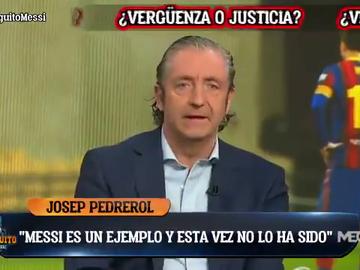 """Pedrerol, muy duro con Messi: """"Siempre ha sido un ejemplo y esta vez no"""""""