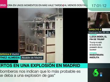 """Almeida tilda de """"milagro"""" que los niños del colegio cercano a la explosión hayan salido ilesos: """"Podría haber sido una tragedia importante"""""""