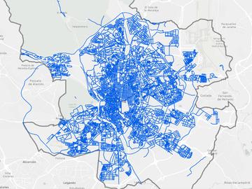 Consulta las calles de Madrid que están limpias de nieve