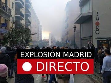 Explosión en Madrid de un edificio, última hora en directo