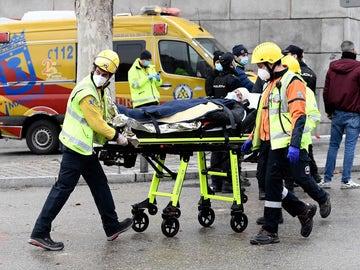 Al menos dos muertos en la explosión de un edificio en el centro de Madrid