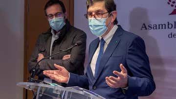 El consejero murciano de Sanidad, Manuel Villegas
