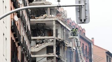 Fuerte explosión en un edificio de seis plantas en la calle Toledo, en el centro de Madrid
