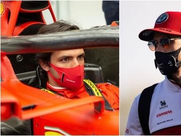 Carlos Sainz y Antonio Giovinazzi