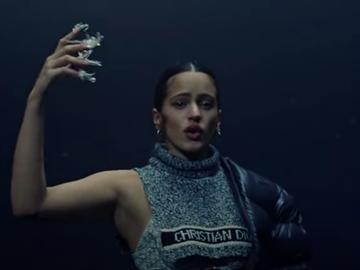 Rosalía en el nuevo videoclip