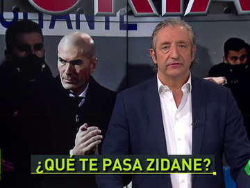 """Pedrerol: """"Zidane, ayer dio la sensación de que ya te habías ido"""""""