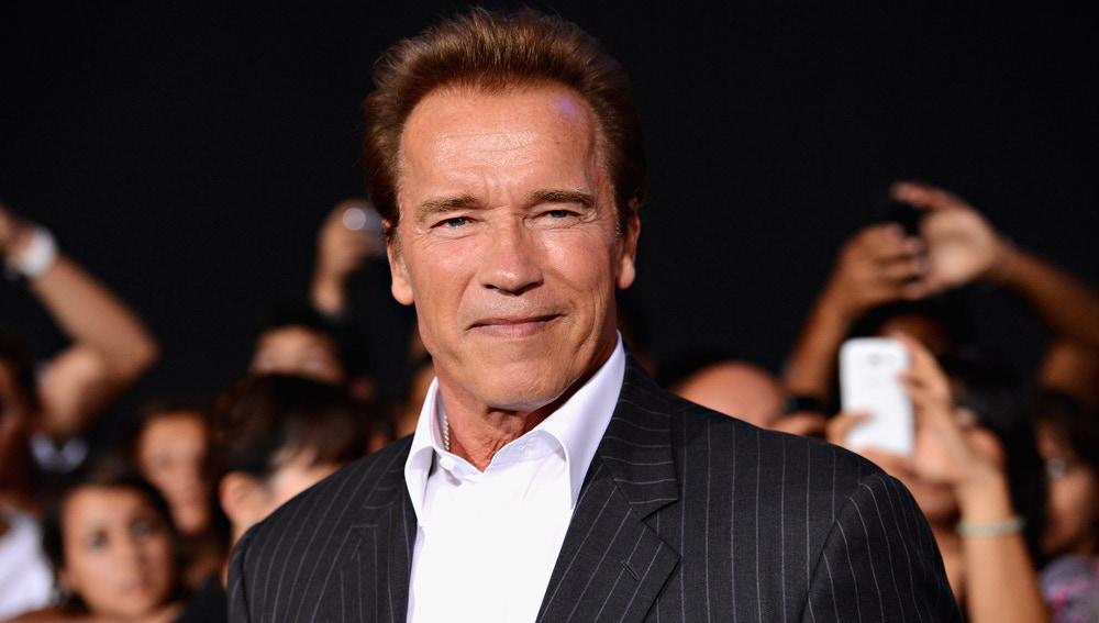Arnold Schwarzenegger en un evento de 2012