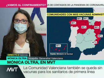 Mónica Oltra, en Más Vale Tarde