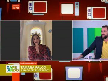 Tamara Falcó en Zapeando