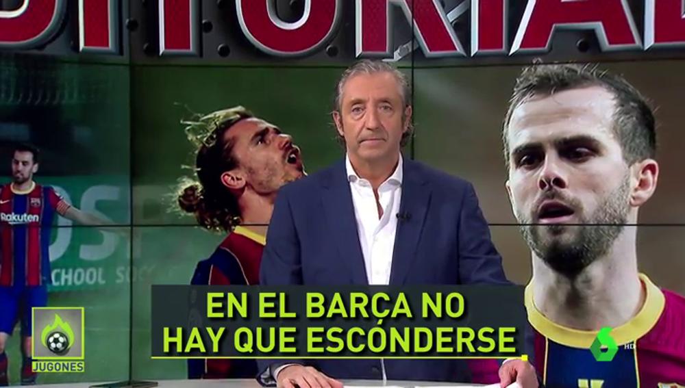 """Pedrerol: """"Ayer Messi no estaba en el campo, y Griezmann tampoco"""""""