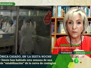 Verónica Casado, consejera de Sanidad de Castilla y León