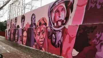 El mural feminista retirado a propuesta de Vox en Madrid