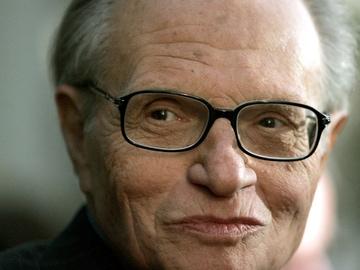 Larry King, en una imagen de archivo