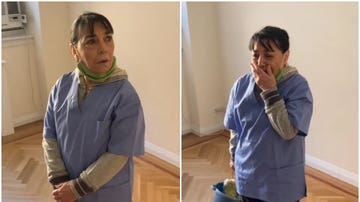 La emocionante sorpresa a una mujer de la limpieza en Nueva York