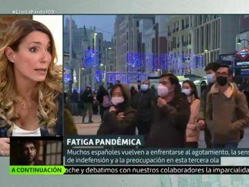 """Ana Isabel Gutiérrez: """"La gente está desesperada por hacer cosas que les saquen de la burbuja de malestar"""""""