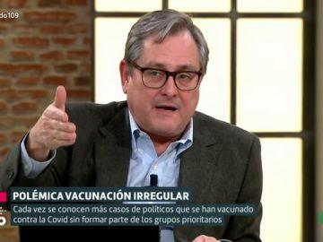 """Francisco Marhuenda defiende que el rey y el presidente del Gobierno deberían vacunarse primero: """"Somos un país de anormales"""""""