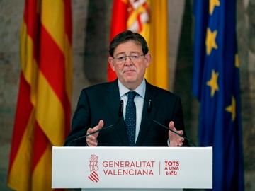 El president de la Generalitat valenciana, Ximo Puig