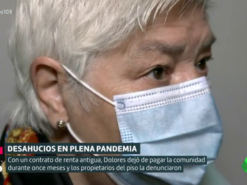 El grito de auxilio de Dolores: historia de un nuevo intento de desahucio en pandemia