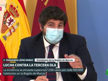 Fernando López Miras, presidente de Murcia