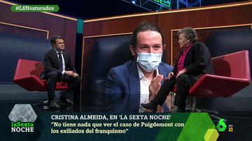 """Almeida, tajante en la comparación de Puigdemont con los exiliados del franquismo: """"A ellos les perseguía la muerte"""""""