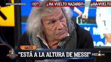 """'Loco' Gatti hace estallar a la bancada culé en 'El Chiringuito': """"Hazard puede ser mejor que Messi"""""""