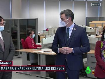 """Pedro Sánchez despide a Salvador Illa: """"Ha sido un honor trabajar contigo en estos meses tan duros"""""""