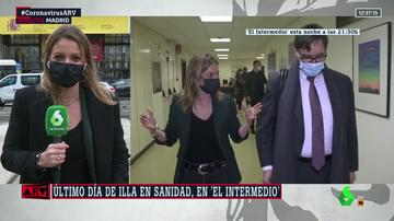 """El Intermedio acompaña a Illa en su último día como ministro: """"Le he notado un punto de tristeza"""""""