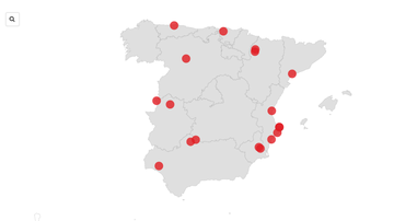El mapa de los altos cargos que se saltaron el plan de vacunación