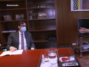 """La defensa de Illa sobre dejar su cargo de ministro de Sanidad en plena pandemia del coronavirus: """"Estamos en otra etapa"""""""
