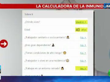 Te explicamos cómo funciona la calculadora que te dice cuándo te vacunarás contra el coronavirus