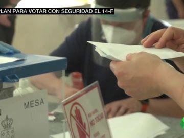 Plan para votar el 14-F