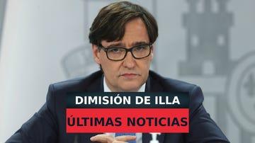 Salvador Illa dimite como ministro de Sanidad, Carolina Darias podría ser su sustituta