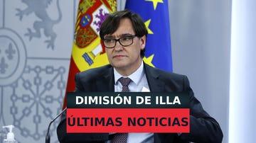 Salvador Illa dimite como ministro de Sanidad, Carolina Darias podría ser su sustituta, en directo