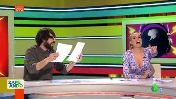 """El chiste sorpresa de Renata Zanchi en directo que deja locos a los zapeadores: """""""