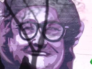 La presión vecinal consigue que el mural feminista del Barrio de la Concepción se quede