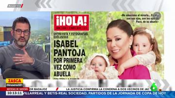 Portada de la revista en la que salió Isabel Pantoja con sus nietas