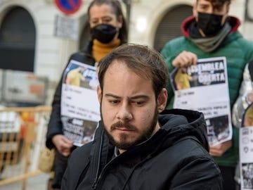 El rapero leridano Pablo Hásel