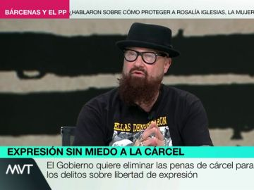 """La crítica de César Strawberry a la 'Ley Mordaza' por """"infundir al miedo"""": """"La autocensura es el principio de la dictadura"""""""