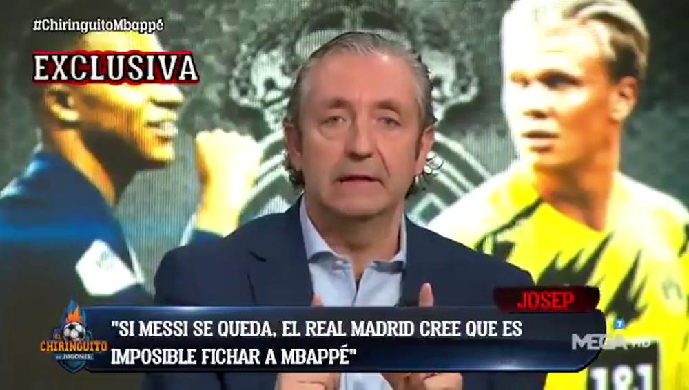 """Exclusiva de Pedrerol: """"El Real Madrid fichará a Mbappé o Haaland este verano"""""""