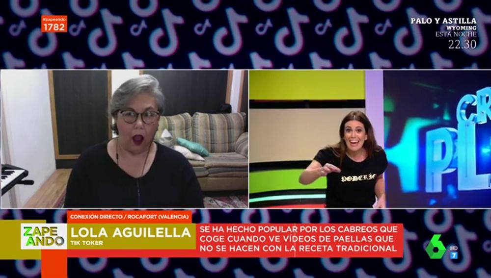 """La reacción de la valenciana 'madreindignada' al escuchar lo que Cristina Plaza echa a su paella: """"¡Vacía toda la nevera ya!"""""""